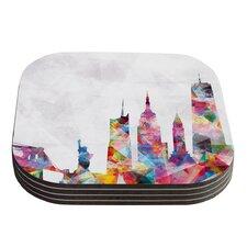 New York by Mareike Boehmer Coaster (Set of 4)
