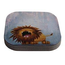 Dandy Lion by Rachel Kokko Coaster (Set of 4)