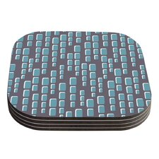 Cubic Geek Chic by Michelle Drew Coaster (Set of 4)