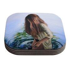Knee Deep by Lydia Martin Coaster (Set of 4)