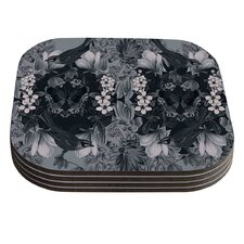 Magnolia Cushion by Suzanne Carter Coaster (Set of 4)