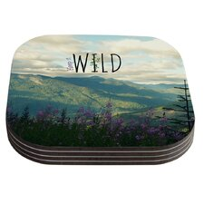 Keep It Wild by Robin Dickinson Coaster (Set of 4)