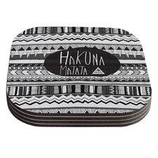 Hakuna Matata by Vasare Nar Coaster (Set of 4)