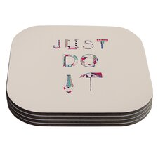 Just Do It by Vasare Nar Coaster (Set of 4)