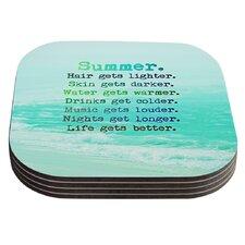 Summer XXL by Monika Strigel Coaster (Set of 4)