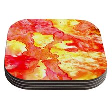 Hot Hot Hot by Rosie Coaster (Set of 4)