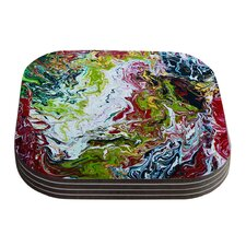 Chaos by Claire Day Coaster (Set of 4)