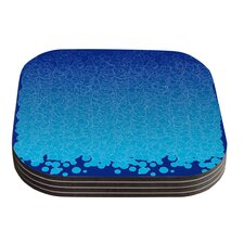 Bubbling by Frederic Levy-Hadida Coaster (Set of 4)