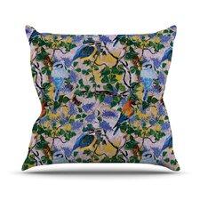 Birds by DLKG Design Throw Pillow