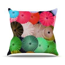 Parasol by Heidi Jennings Paper Circle Throw Pillow