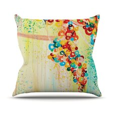Summer in Bloom by Ebi Emporium Throw Pillow