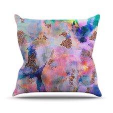 Sparkle Mist Throw Pillow