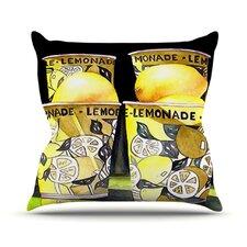 Lemonade by Rosie Brown Throw Pillow