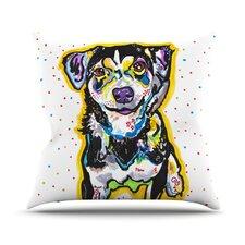 Jasper by Rebecca Fischer Throw Pillow