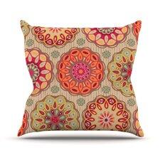 Festival Folklore Throw Pillow