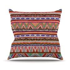 Native Tessellation Throw Pillow