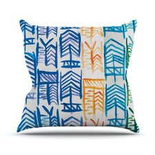 Quiver II by Theresa Giolzetti Throw Pillow