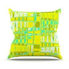 Changing Gears in Sunshine Throw Pillow