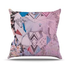 Unicorn by Vasare Nar Throw Pillow