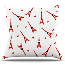 Paris by Louise Throw Pillow