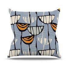 Eden by Gill Eggleston Throw Pillow