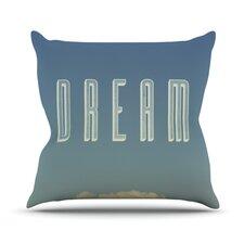 Dream Print by Galaxy Eyes Throw Pillow