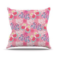 Baroque Butterflies by Anneline Sophia Throw Pillow