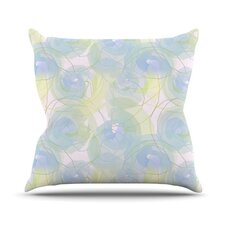 Paper Flower by Alison Coxon Throw Pillow