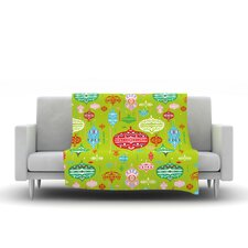 Ornate by Miranda Mol Microfiber Fleece Throw Blanket