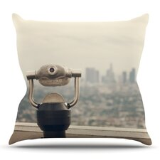 The View LA by Catherine McDonald Throw Pillow