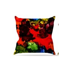 Beach Bum by Claire Day Throw Pillow