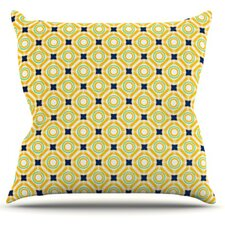 Tossing Pennies II by Catherine McDonald Throw Pillow