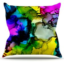 A Little Out There by Claire Day Throw Pillow
