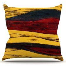 Sheets by Brittany Guarino Throw Pillow
