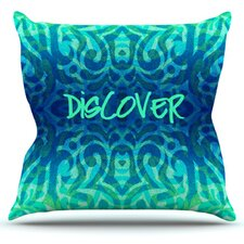 Tattooed Discovery by Caleb Troy Throw Pillow