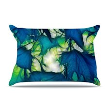 Leaves Microfiber Fleece Pillow Case