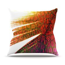 <strong>KESS InHouse</strong> Feather Pop Throw Pillow