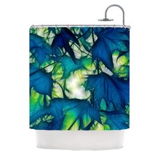 Leaves Polyester Shower Curtain