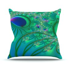 <strong>KESS InHouse</strong> Fractal Throw Pillow