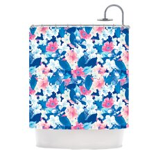 <strong>KESS InHouse</strong> Bloom Polyester Shower Curtain