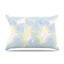 <strong>KESS InHouse</strong> Paper Flower Microfiber Fleece Pillow Case