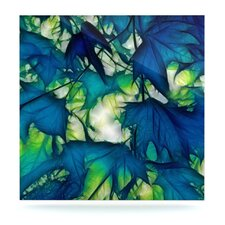 Leaves by Alison Coxon Graphic Art Plaque