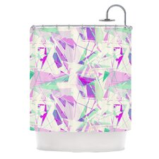 <strong>KESS InHouse</strong> Shatter Polyester Shower Curtain