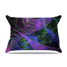 <strong>KESS InHouse</strong> Floral Garden Microfiber Fleece Pillow Case