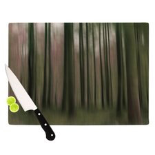 <strong>KESS InHouse</strong> Forest Blur Cutting Board