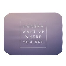 Wake Up Placemat