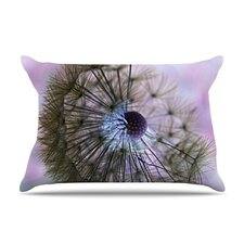 <strong>KESS InHouse</strong> Dandelion Clock Microfiber Fleece Pillow Case