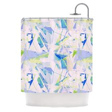 Shatter Polyester Shower Curtain