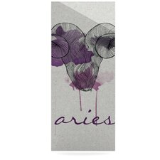Aries by Belinda Gillies Graphic Art Plaque