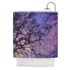 Skies Polyester Shower Curtain